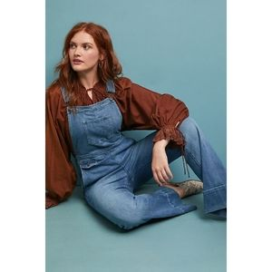 New Anthropologie Pilcro Jolie Denim Overalls